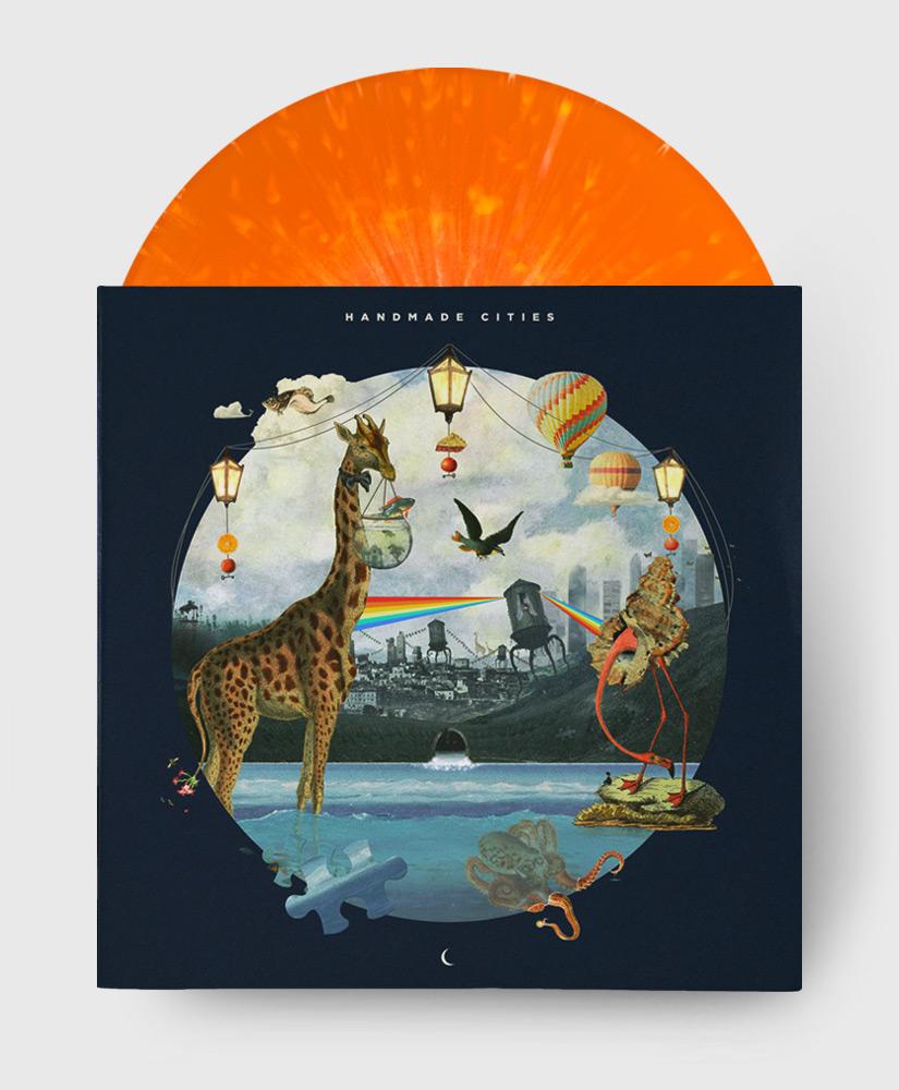 Plini - Handmade Cities - Orange Splatter Vinyl