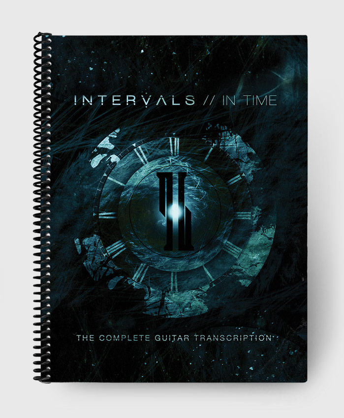 Intervals - In Time - The Complete Guitar Transcription