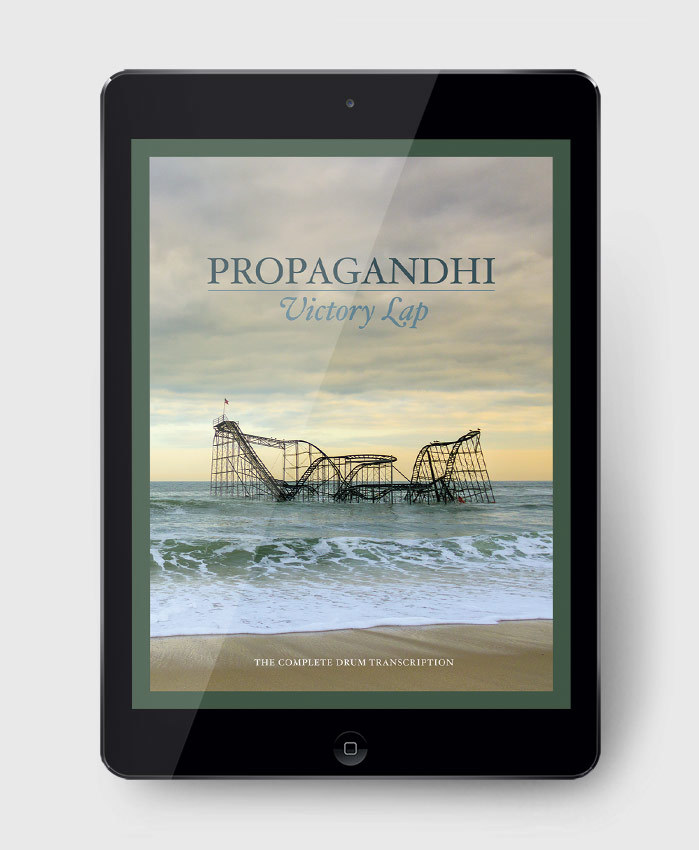 Propagandhi - Victory Lap - The Complete Drum Transcription