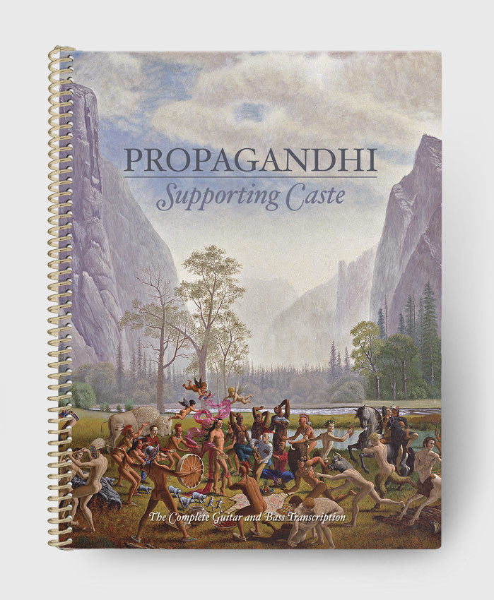 Propagandhi - Supporting Caste Re-Issue - The Complete Guitar & Bass Transcription