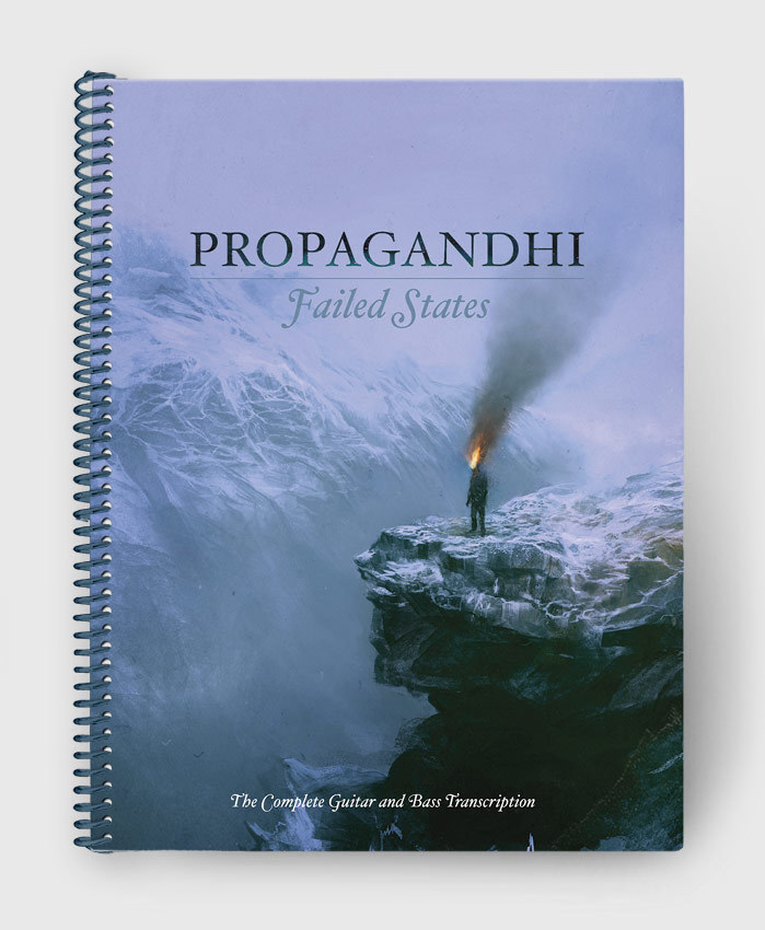 Propagandhi - Failed States Re-Issue - The Complete Guitar & Bass Transcription