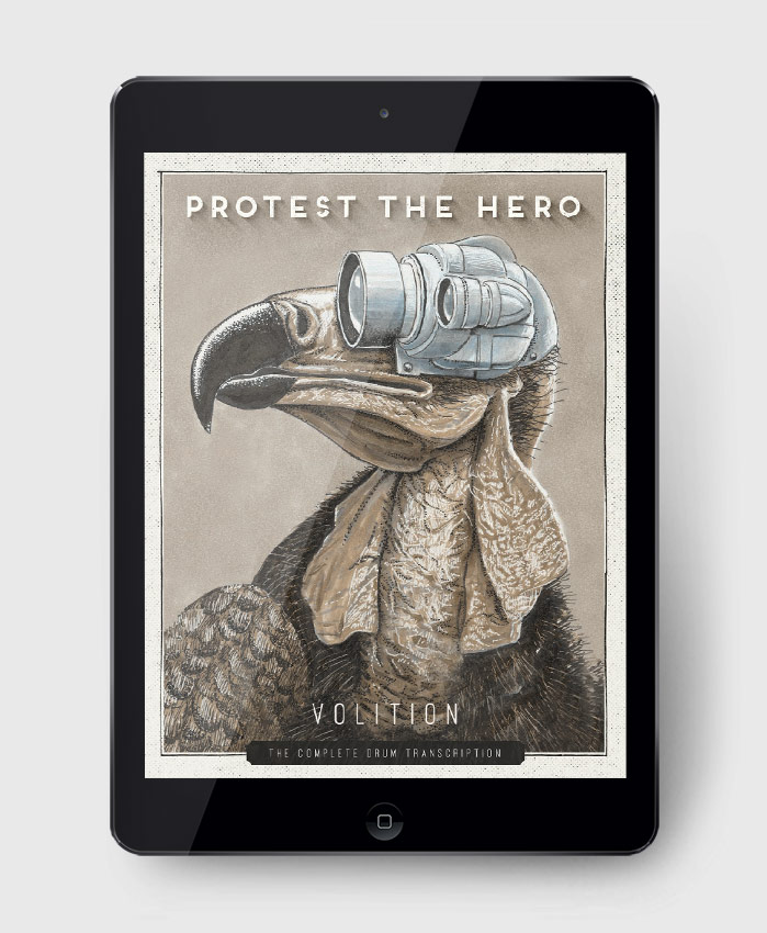 Protest The Hero Volition The Complete Drum