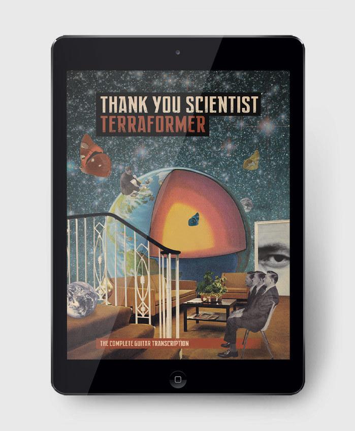 Thank You Scientist - Terraformer - The Complete Guitar Transcription