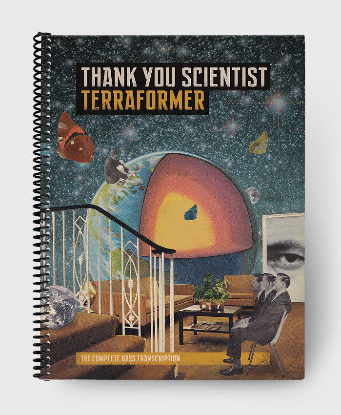 Thank You Scientist - Terraformer - The Complete Bass Transcription