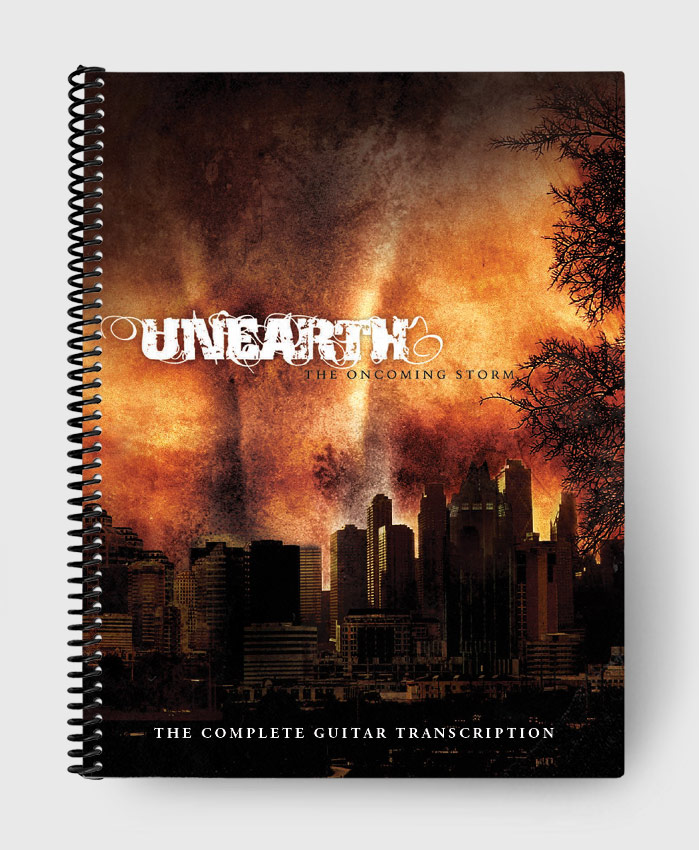 Unearth - The Oncoming Storm - The Complete Guitar Transcription
