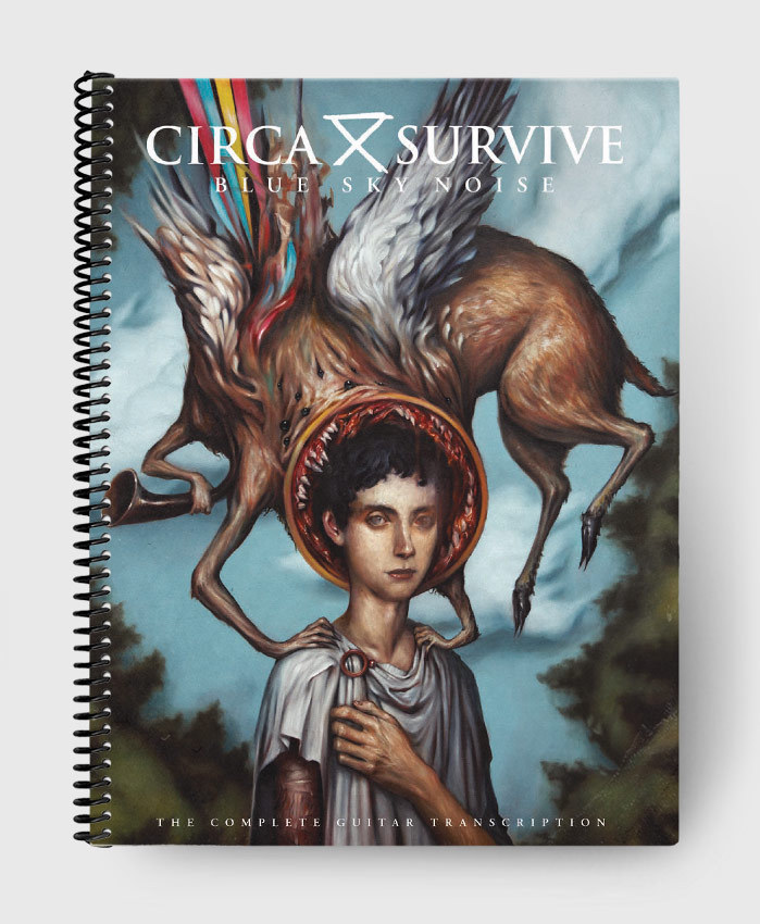 Circa Survive - Blue Sky Noise - The Complete Guitar Transcription