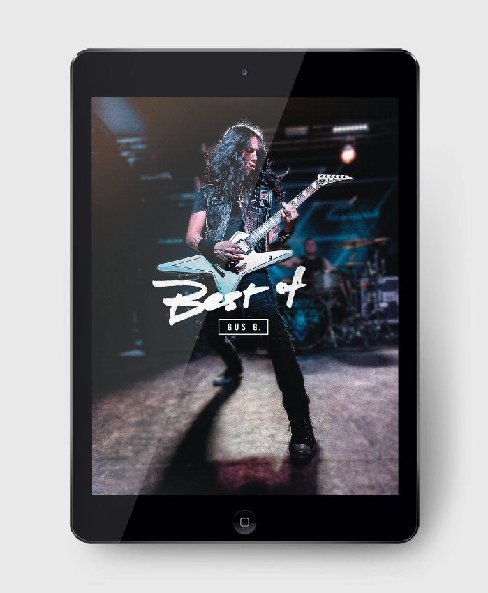 Gus G - Best of Gus G - The Complete Guitar Transcription