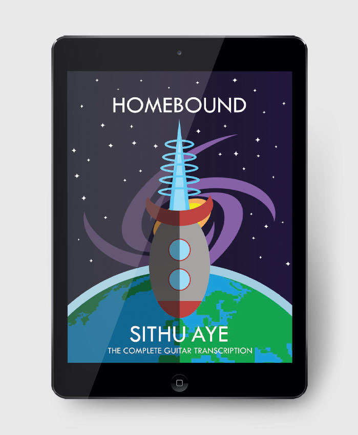 Sithu Aye - Homebound - The Complete Guitar Transcription