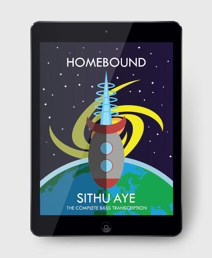 Sithu Aye - Homebound - The Complete Bass Transcription