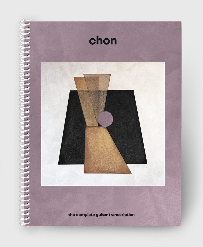 CHON - CHON S/T - The Complete Guitar Transcription