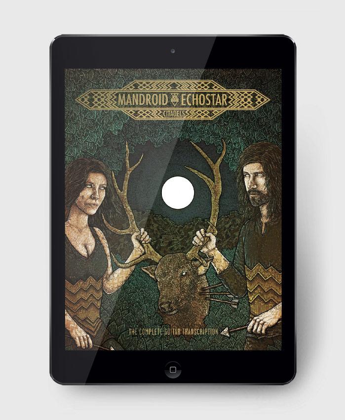 Mandroid Echostar - Citadels - The Complete Guitar Transcription