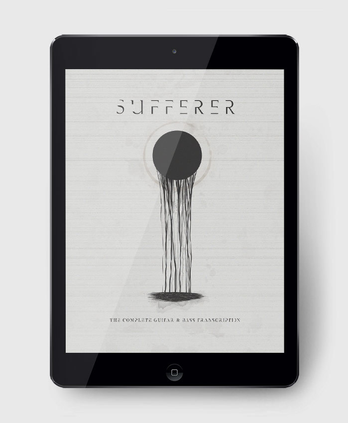 Sufferer - Sufferer S/T - The Complete Guitar & Bass Transcription