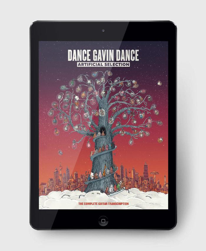 Dance Gavin Dance - Artificial Selection  - The Complete Guitar Transcription