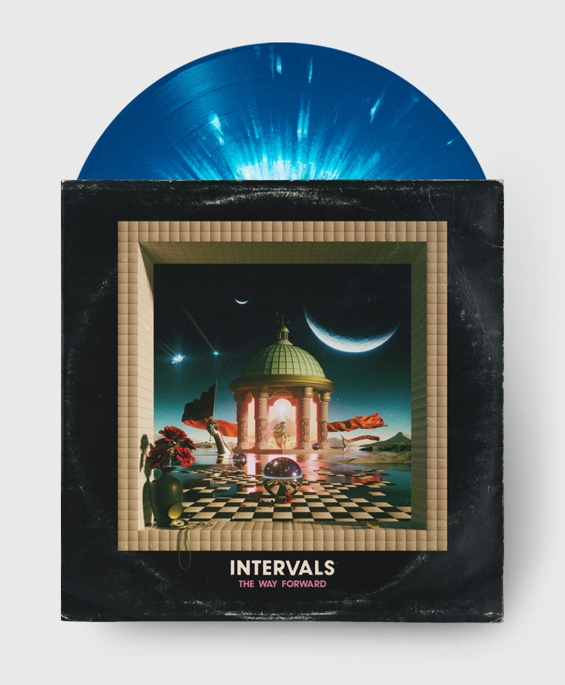 Intervals - The Way Forward - Blue Splatter Vinyl