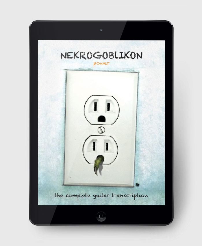 Nekrogoblikon - Power EP - The Complete Guitar Transcription