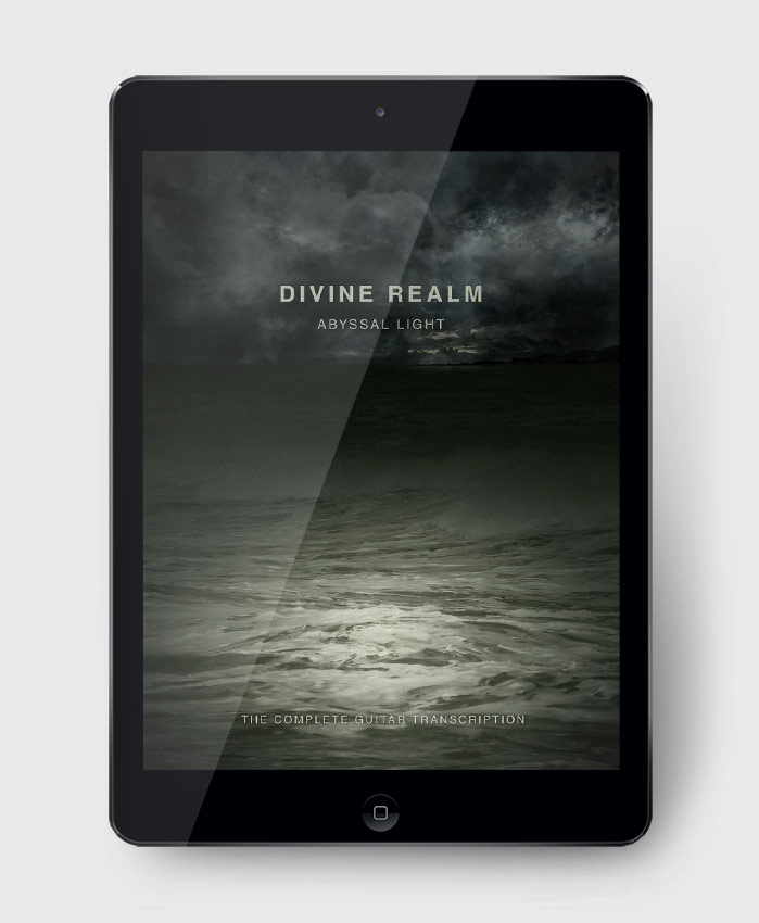 Divine Realm - Abyssal Light - The Complete Guitar Transcription