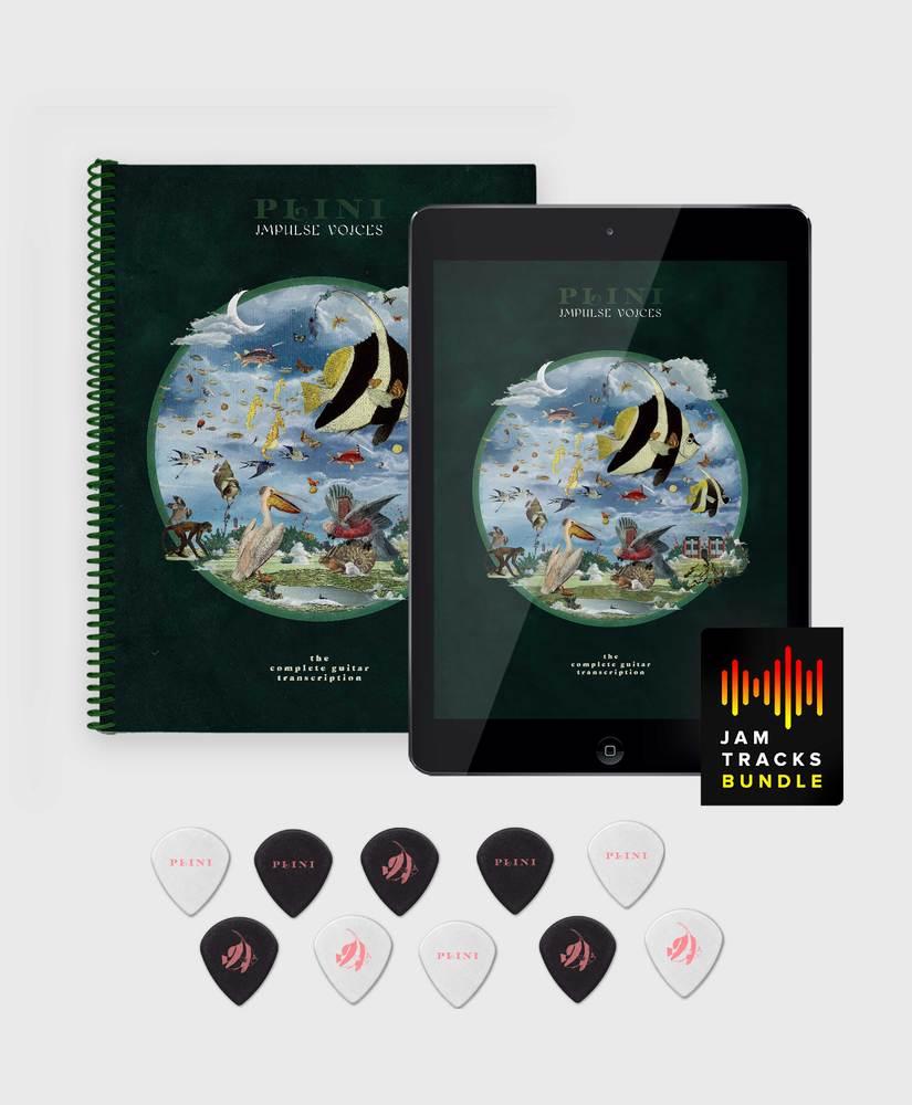 Plini - Impulse Voices - Deluxe Book Bundle