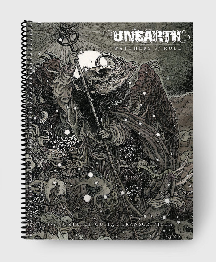 Unearth - Watchers of Rule - The Complete Guitar Transcription