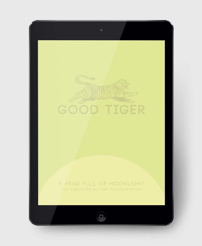 Good Tiger - A Head Full of Moonlight - The Complete Guitar Transcription