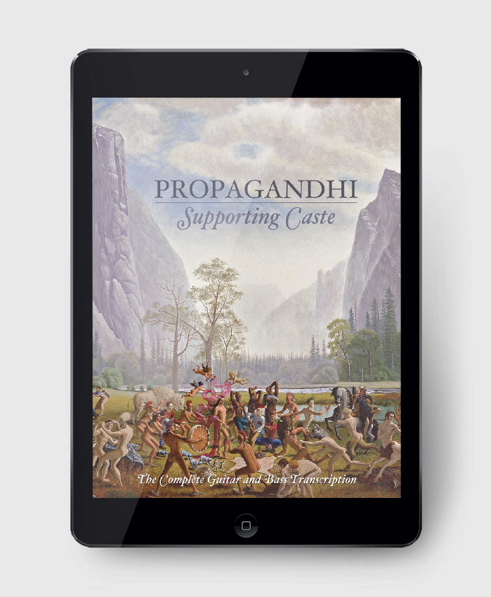 Propagandhi - Supporting Caste - The Complete Guitar & Bass Transcription