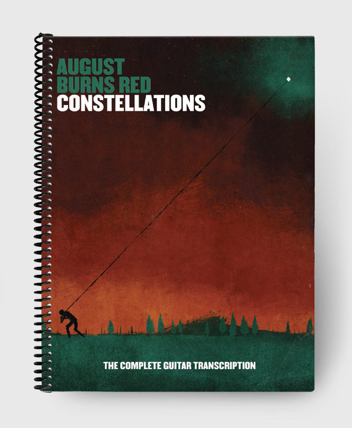 August Burns Red - Constellations - The Complete Guitar Transcription