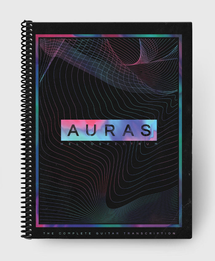 Auras - Heliospectrum - The Complete Guitar Transcription