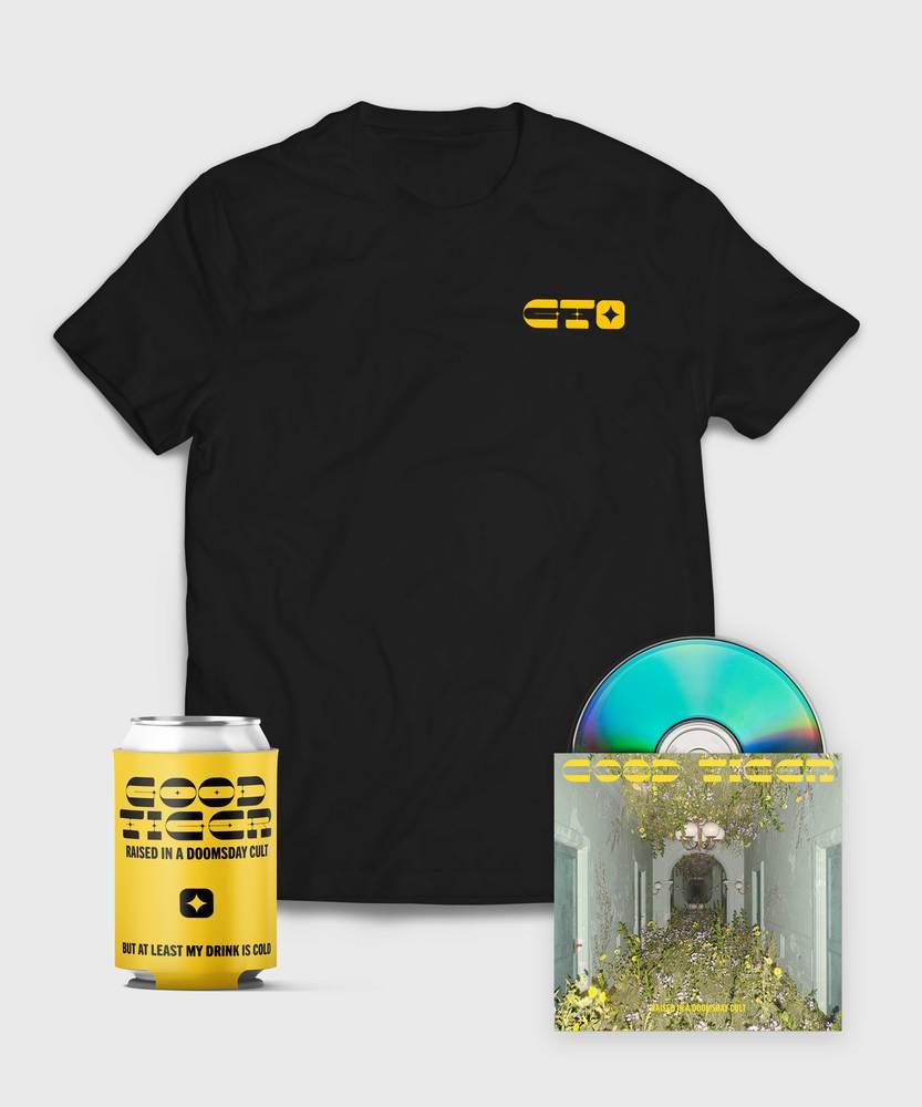 Good Tiger - CD + T-Shirt  - CD + T-Shirt Bundle