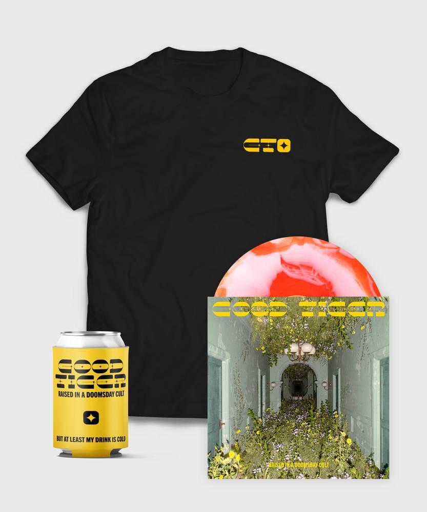 Good Tiger - Vinyl + End Credits T-Shirt  - Vinyl + End Credits T-Shirt Bundle