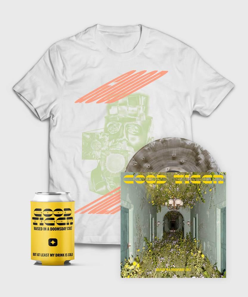 Good Tiger - Vinyl + Head Melter T-Shirt  - Vinyl + Head Melter T-Shirt Bundle