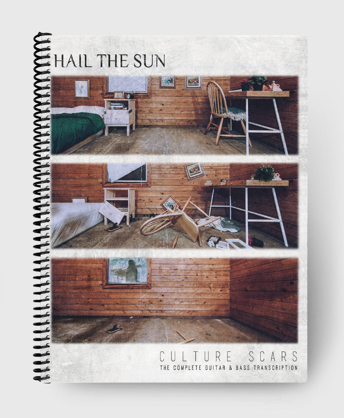 Hail The Sun - Culture Scars - The Complete Guitar & Bass Transcription