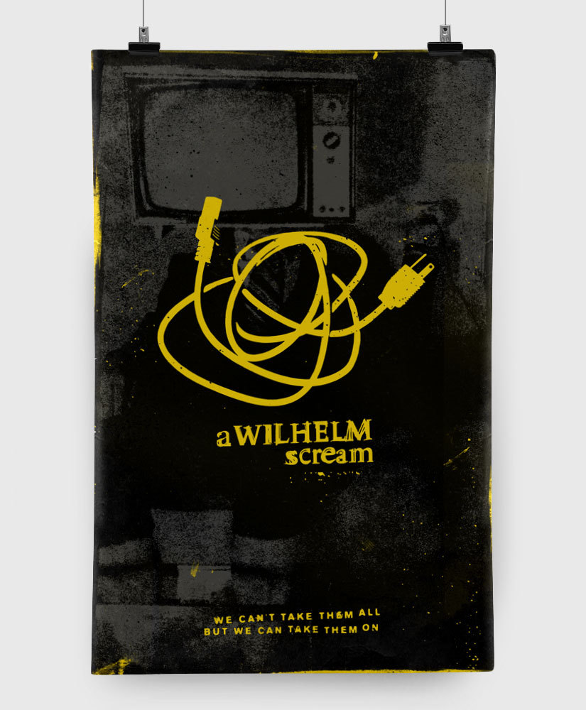 A Wilhelm Scream - Mute Print - Limited Edition 11x17 Print