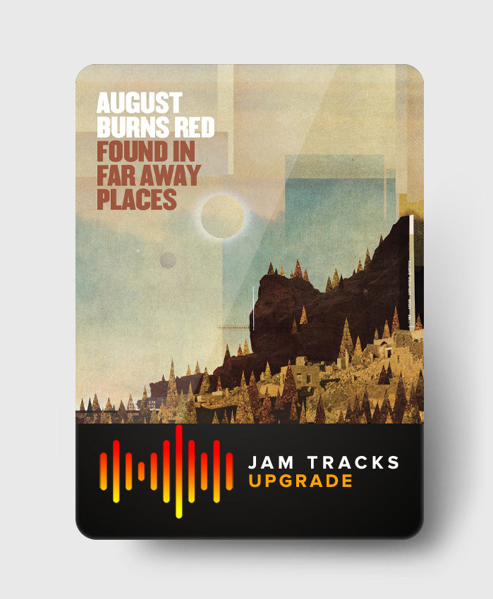 August Burns Red - Found In Far Away Places - Jam Tracks Upgrade Pack
