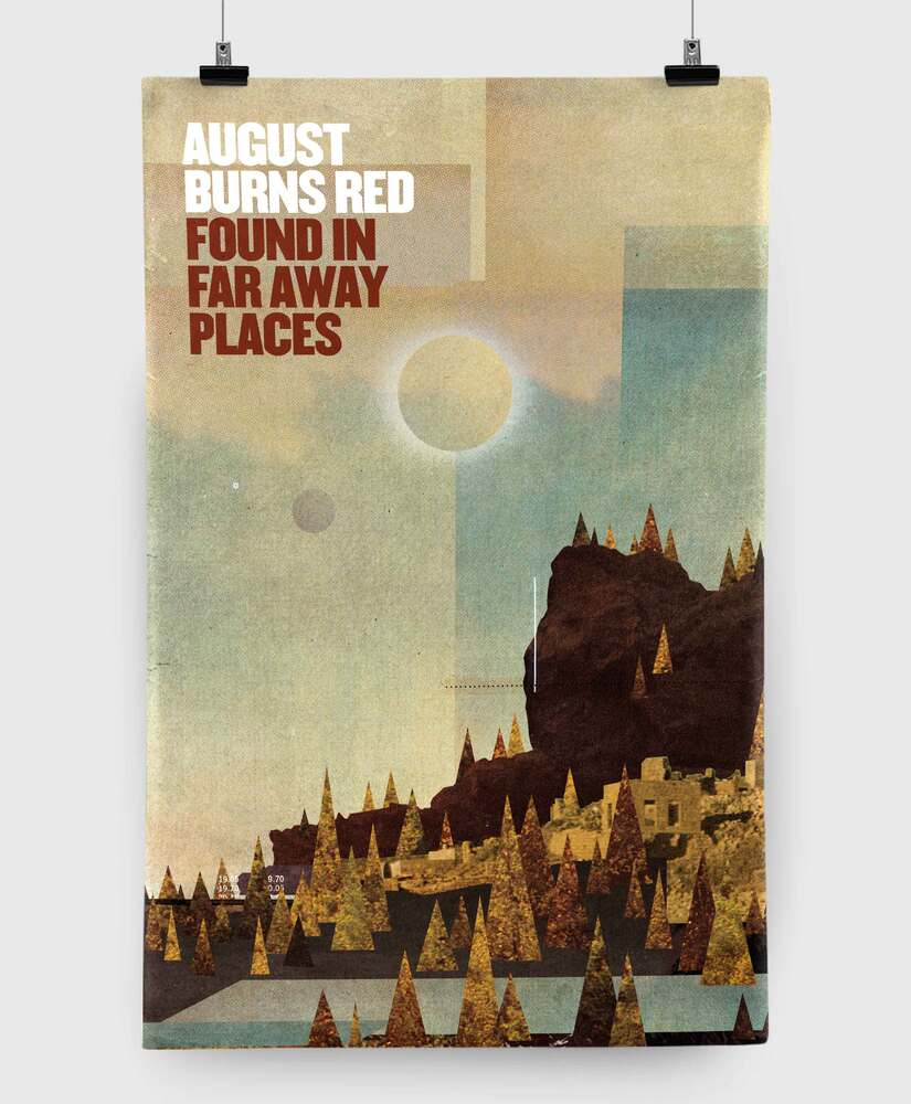 August Burns Red - Found in Far Away Places - 11x17 Print