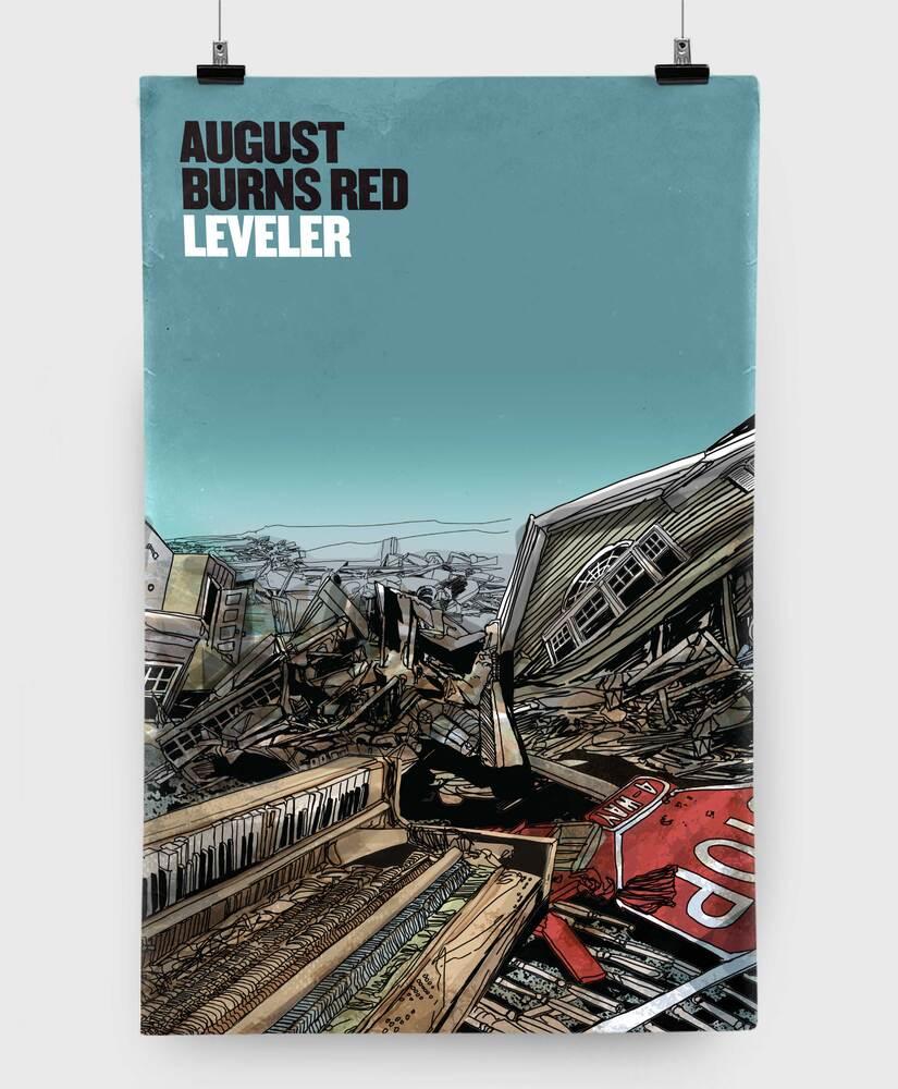 August Burns Red - Leveler X - 11x17 Print