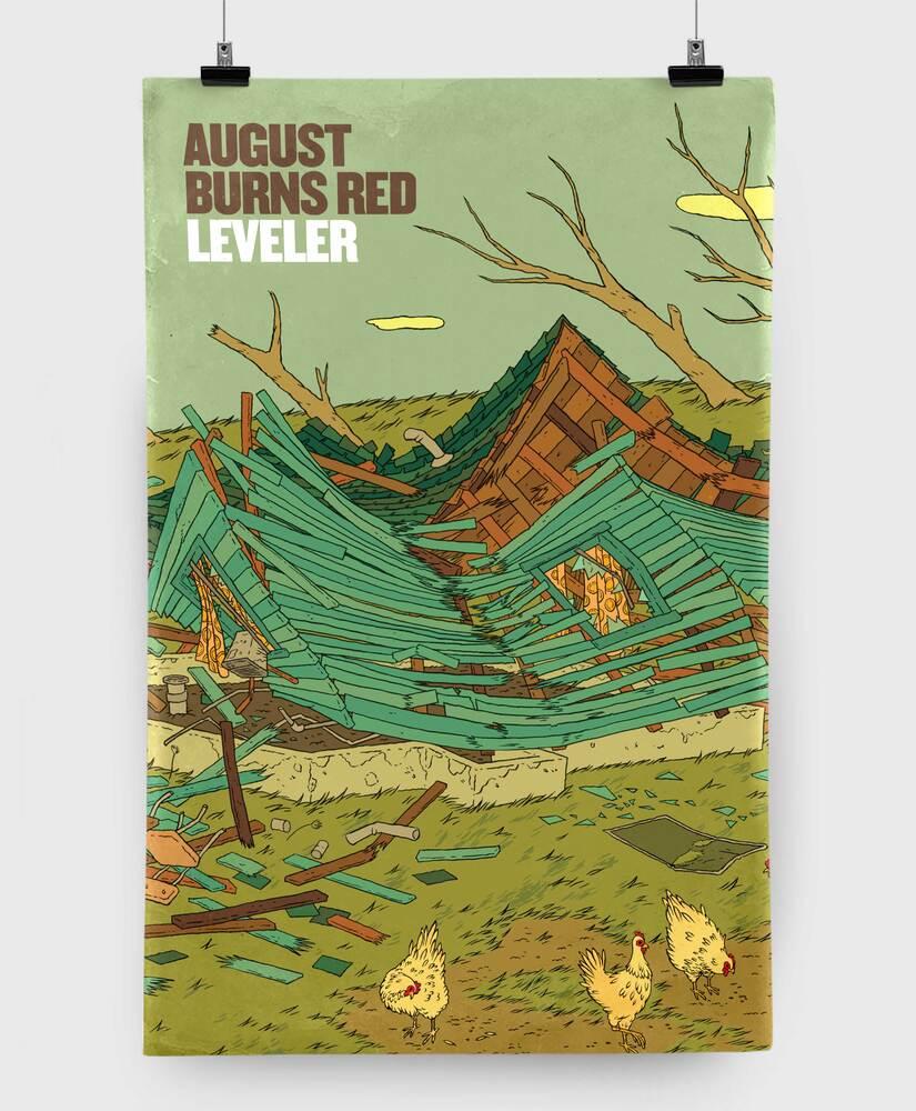 August Burns Red - Leveler - 11x17 Print