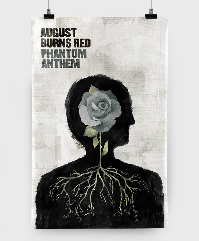 August Burns Red - Phantom Anthem - 11x17 Print