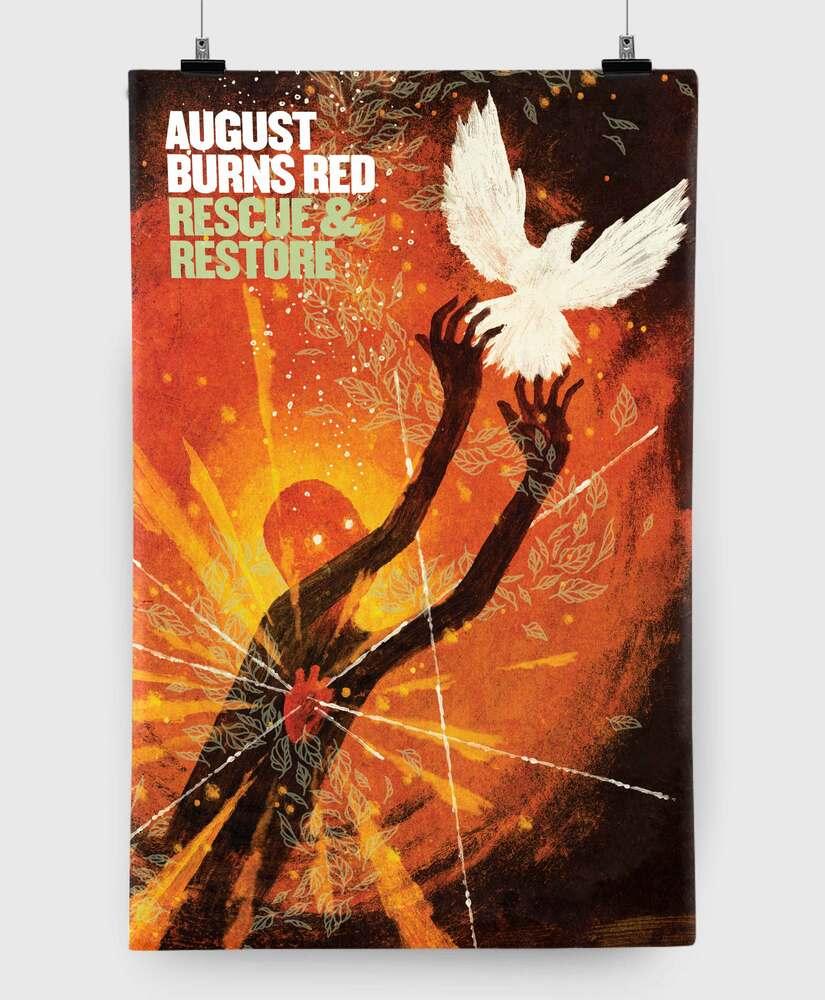 August Burns Red - Rescue & Restore - 11x17 Print