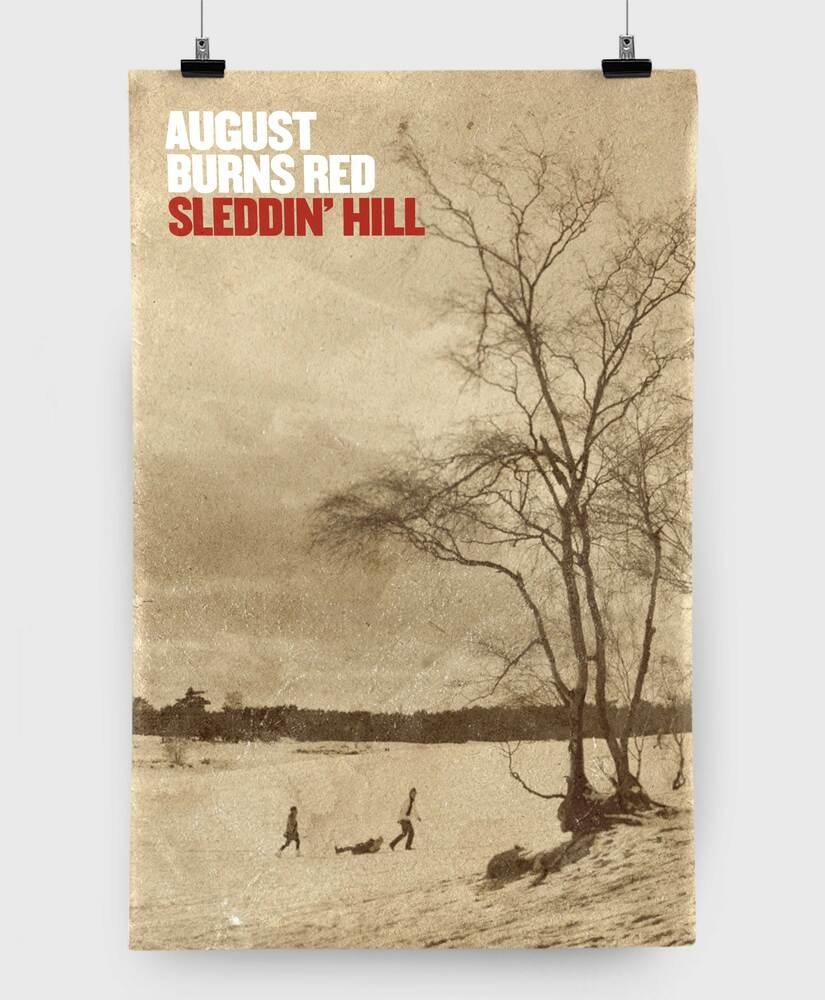 August Burns Red - Sleddin' Hill - 11x17 Print