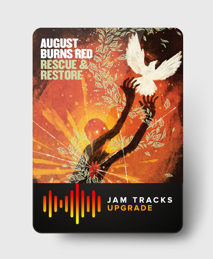 August Burns Red - Rescue and Restore - Jam Tracks Upgrade Pack