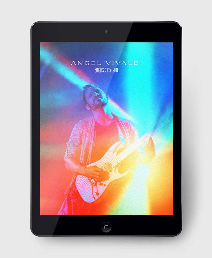 Angel Vivaldi - Singles 2015-2019 - The Complete Guitar Transcription