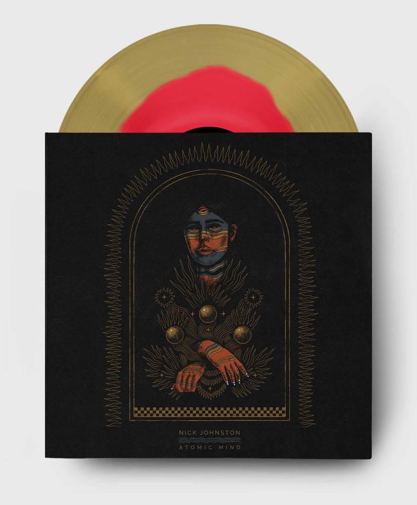 Nick Johnston - Atomic Mind - 1st Pressing - 2x LP