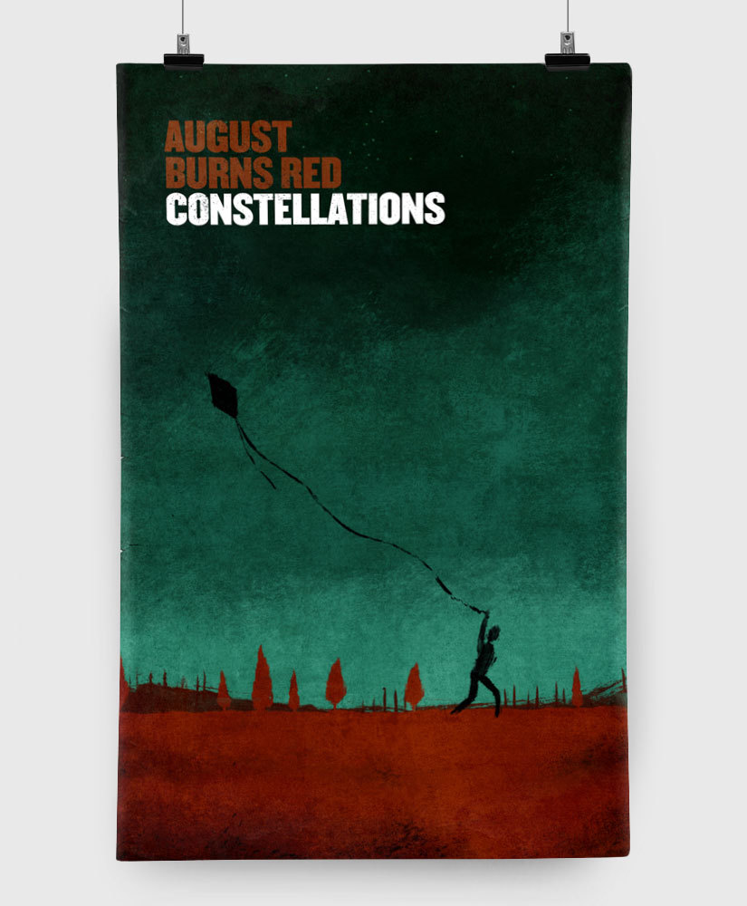August Burns Red - Constellations - Limited Edition 11x17 Print