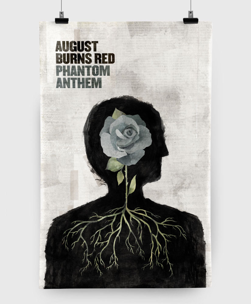 August Burns Red - Phantom Anthem - Limited Edition 11x17 Print