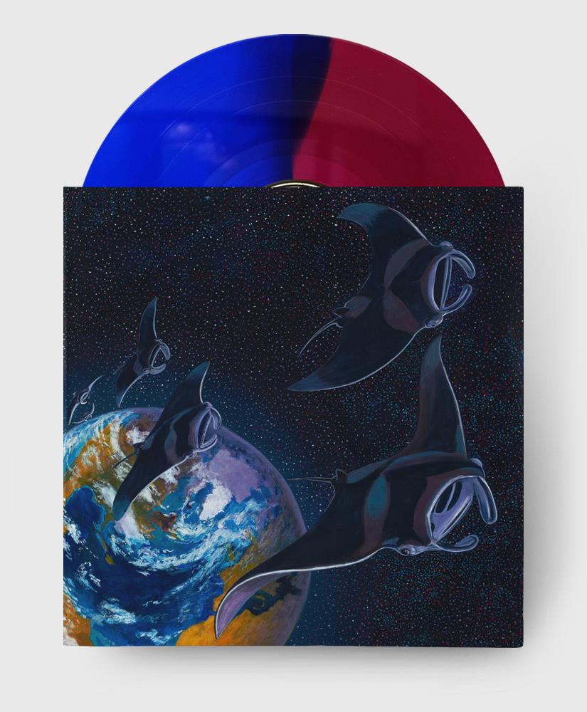 Protest The Hero - Pacific Myth - Translucent Pink & Blue Vinyl