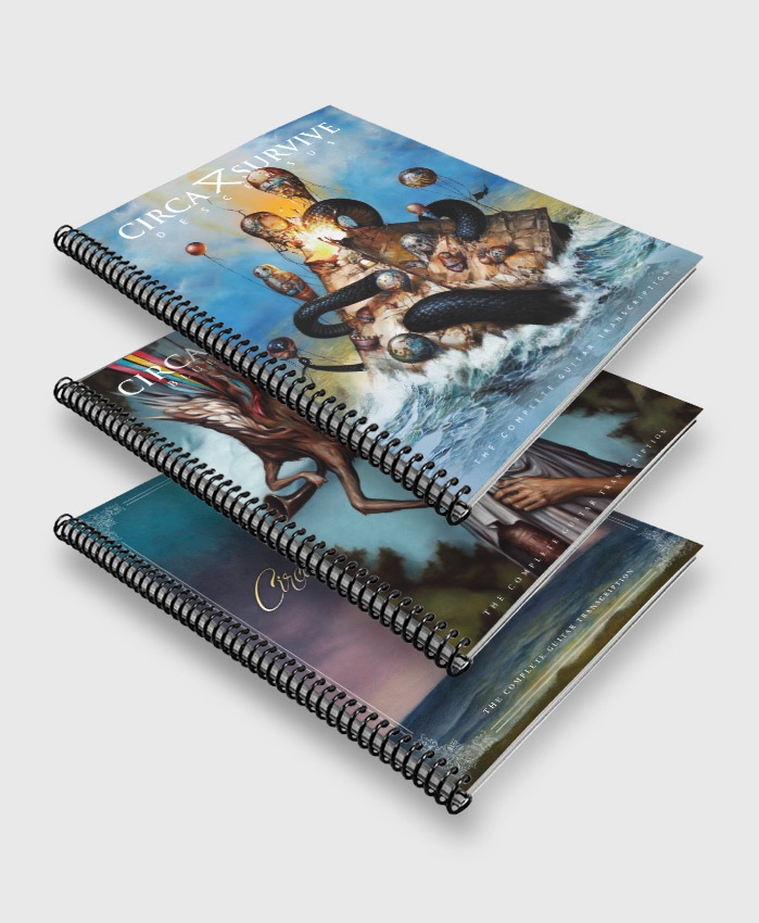 Circa Survive - Anthology 3-Pack - The Complete Guitar Transcriptions