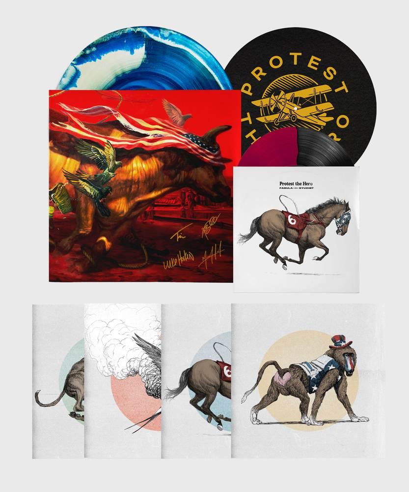 Protest The Hero - Deluxe Vinyl Upgrade - Deluxe Vinyl Upgrade Bundle