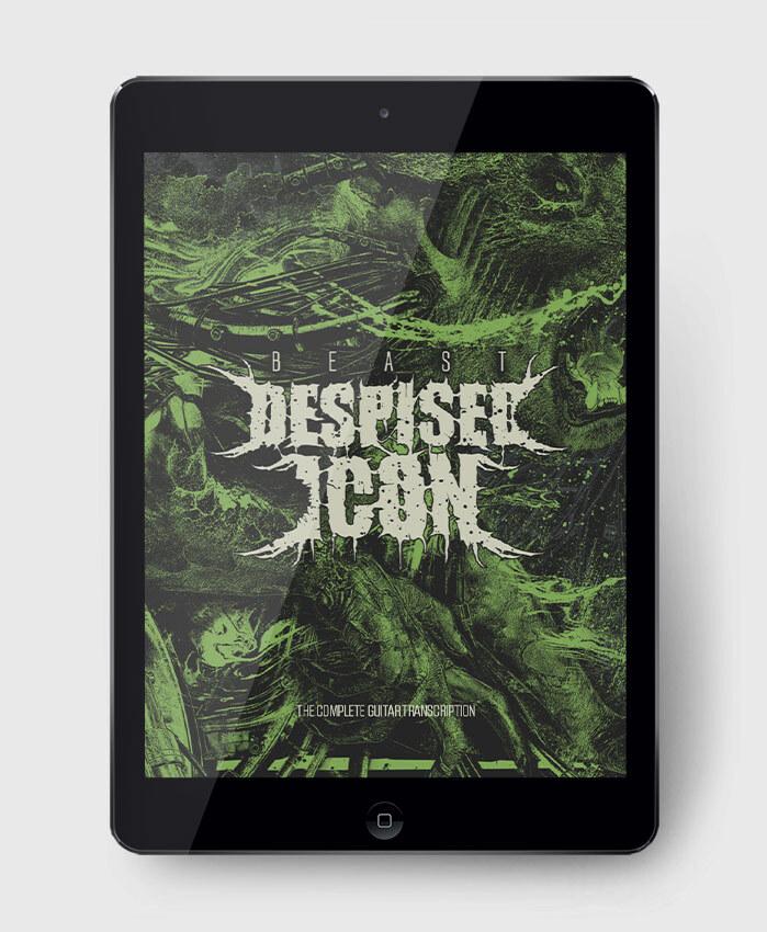 Despised Icon - Beast - The Complete Guitar Transcription