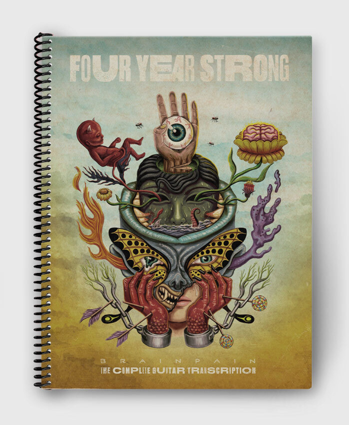 Four Year Strong - Brain Pain - The Complete Guitar Transcription