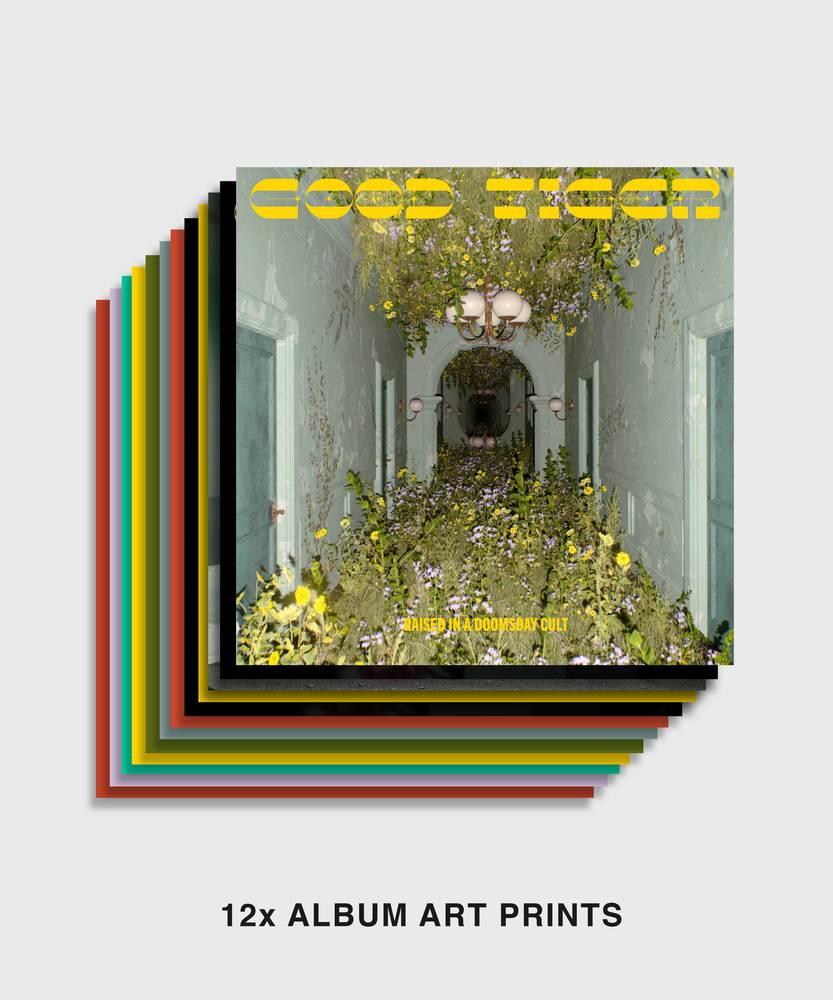 Good Tiger - Raised in a Doomsday Cult - Art Prints Set - Art Prints Set