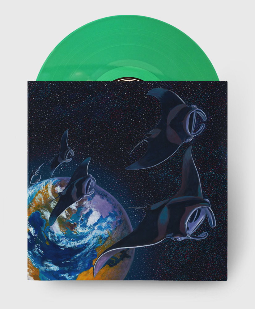 Protest The Hero - Pacific Myth - Translucent Green Vinyl